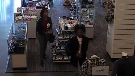 The Wayne Police Deparment is seeking help identifying two of four suspects, pictured, after a shoplifting incident.