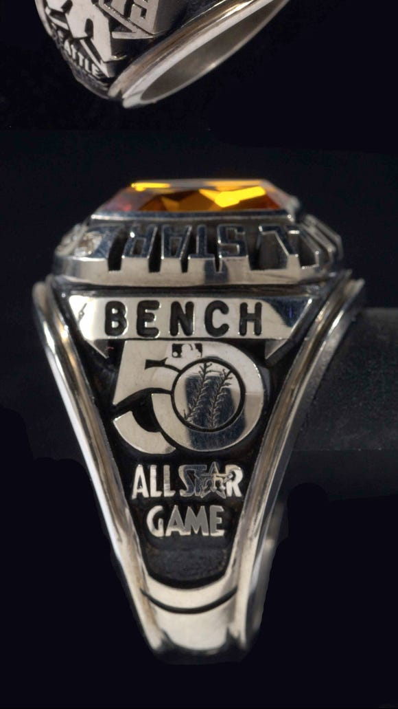 A select grouping of items from Johnny Bench Collection will headline a live auction on July 14.