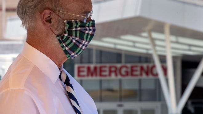 Gov. Tom Wolf's decision to withhold funding left Lebanon as the only eligible Pennsylvania county to have been cut off from a $625 million pot of federal coronavirus relief money distributed by the state.