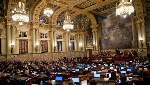 There are signs of a budget breakthrough in the Pennsylvania legislature Tuesday. .