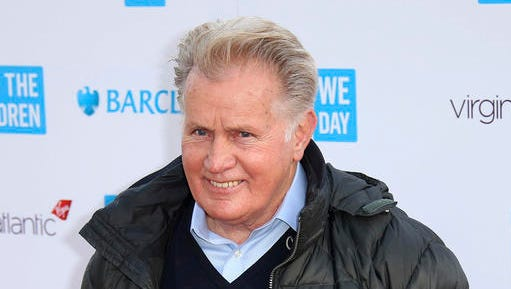 "FILE - In this March 5, 2015 file photo, actor Martin Sheen poses for photographers on arrival at We Day UK at Wembley Arena, in west London. Sheen briefly reprised his ""West Wing"" role as president in a new ad backing his friend seeking election as a Pennsylvania judge. Sheen played the fictional President Josiah Bartlett in the series and brought the role back briefly in the roughly two-minute ad for Judge Joe Cosgrove. Cosgrove is seeking election to Commonwealth Court."
