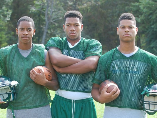 Winslow football trio