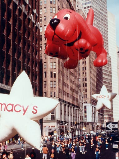Macy S Thanksgiving Parade Balloons Through The Years