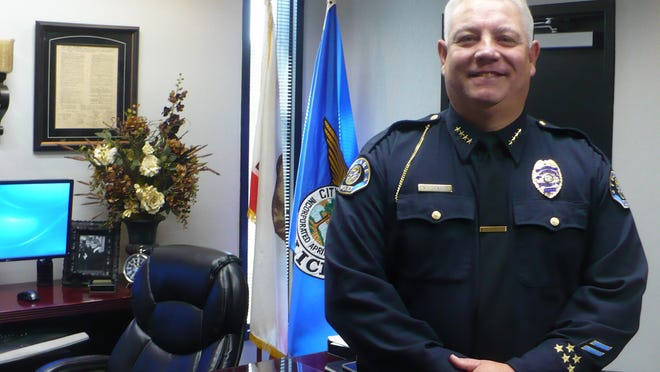 Tulare Police Chief Wes Hensley.