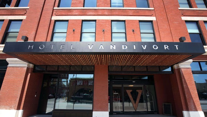 Hotel Vandivort in Springfield opened about a year ago and quickly became a dowtown destination.