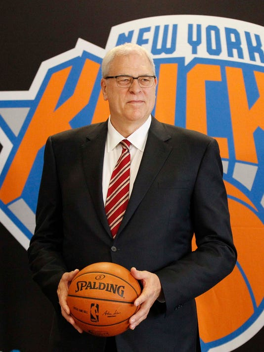 USP NBA: NEW YORK KNICKS PRESS CONFERENCE S BKN USA NY