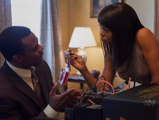 "Lyriq Bent and Taraji P. Henson star in ""Acrimony."""