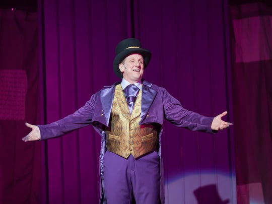 "Dain Alan Paige plays Willy Wonka in director Maggie Perrino's production of ""Roald Dahl's Willy Wonka,"" playing weekends through Jan. 28 at The Carnegie, 1028 Scott St., Covington."