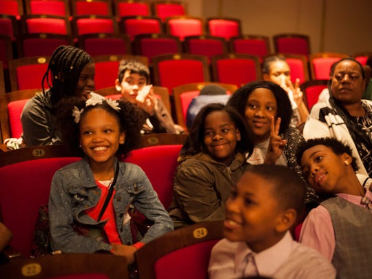 Detroit students attend a performance as part of the
