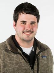 Evan Pinion, Maryville High School swim coach. Monday,