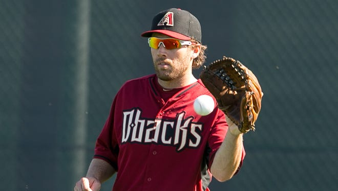 Nick Evans, who plays outfield, first base and third base, was called up from Triple-A Reno by the Diamondbacks on Wednesday, May 28, 2014.