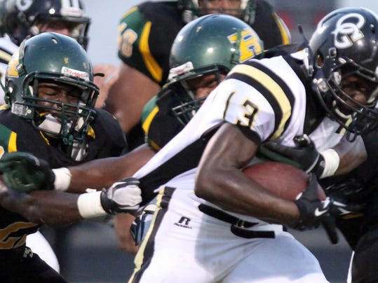 rayville vs. oak grove 9/5/2013
