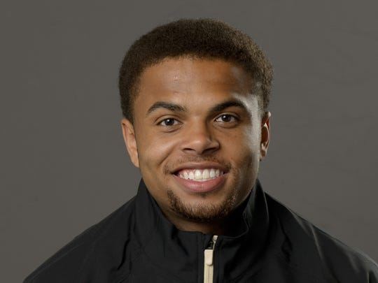 Purdue freshman P.J. Thompson.