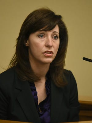 Campbell County Judge Amanda Sammons (MICHAEL PATRICK/NEWS SENTINEL)
