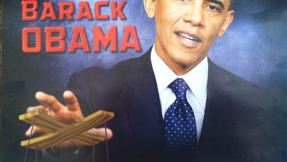 obama puppet from Bev