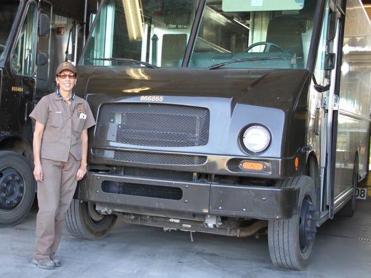 "UPS driver Beatrice ""Bea"" Sturtz will retire Monday"