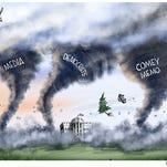 Cartoonist Gary Varvel: Political twisters