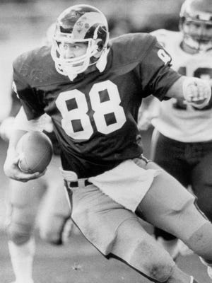 Keli McGregor was an All-American tight end in 1984 at CSU.
