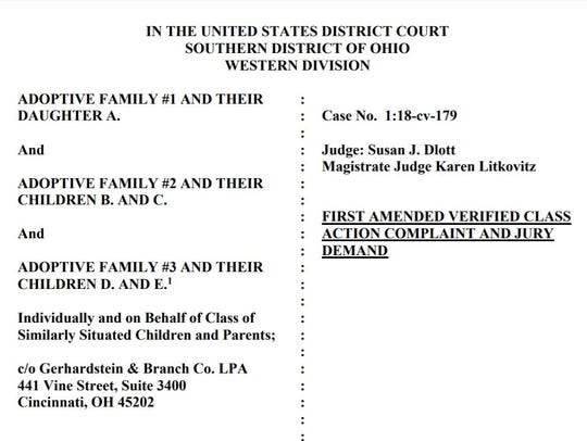 Several families are suing Warren County for lying,