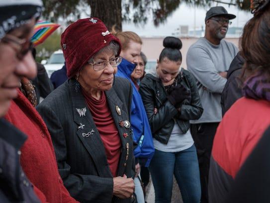 Dorris T. Hamilton, retired educator and civil rights
