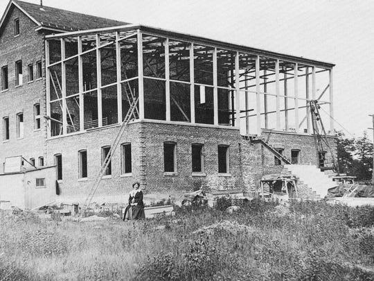 Solax Studios, Fort Lee, under construction