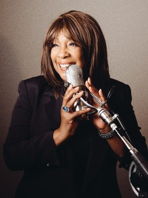 "Mary Wilson, founding member of the Supremes, poses in a studio of the Capitol Records building in Hollywood. Reflections were no problem for the 70-year-old Wilson, who reminisced on a major milestone: the 50th anniversary of the Supremes first No. 1, million-selling song, ""Where Did Our Love Go"" — released June 17, 1964."