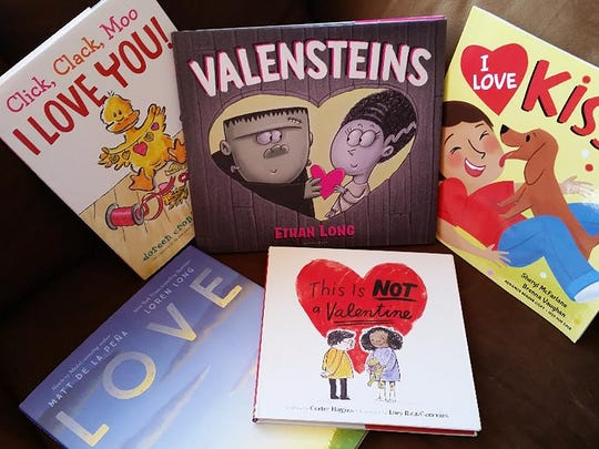 Who do you love? Make a list. After you've read these great Valentine's Day books, you'll want to be sure they know it.