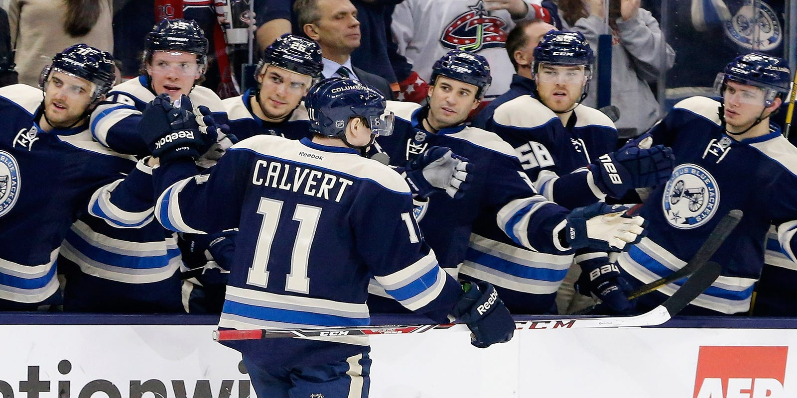 599b8eec4 Blue Jackets extend winning streak to eight