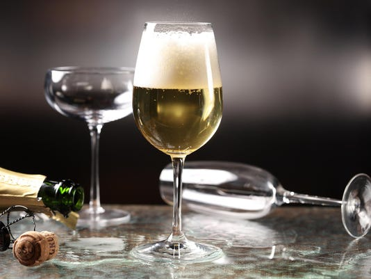 Flute glasses are pretty, but they're ruining your Champagne
