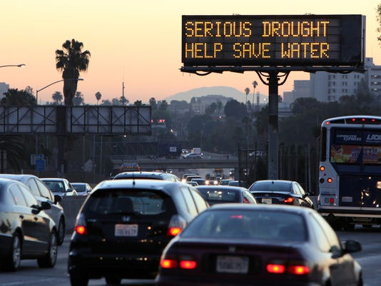 California Drought Water Conservation