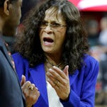 Rutgers coach C. Vivian Stringer was emotional after her team's thrilling win against Northwestern as Stringer mourns the death of her mother.