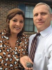 Melanie Casselman and her partner Dennis Suszko found