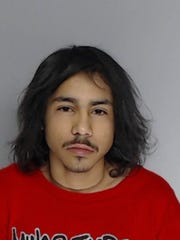 Joe Manuel Flores was arrested on suspicion of aggravated