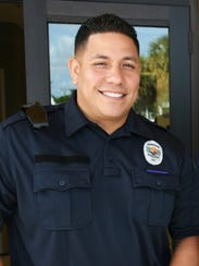 New Patrol Officer Allan Reyes comes from Miami. The