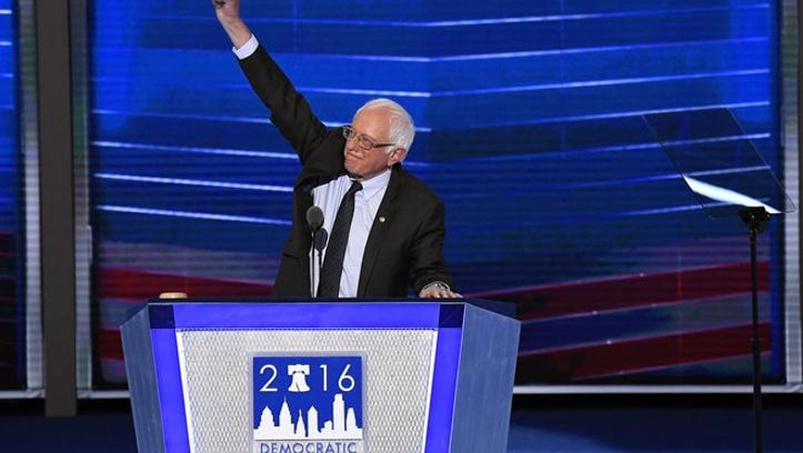 'Bernie or bust' goes bust at the DNC