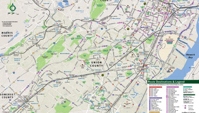 The new map of Union County, which are free in hard-copy form and downloadable.