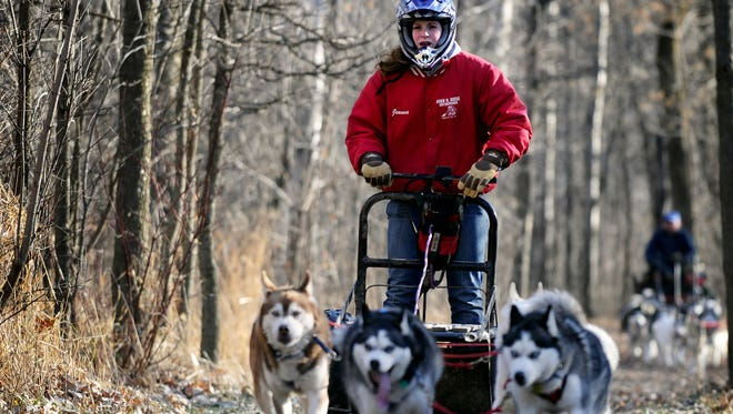 Of the many accomplishments Jeanna Giese-Frassetto has made since surviving rabies, one is racing snow dogs across Wisconsin.