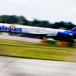 Allegiant to invest $50M by basing 2 Airbus planes at McGhee Tyson, will create 66 jobs