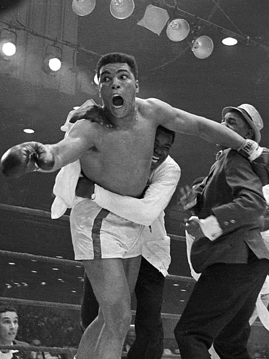 5ffa3271797 Fight by fight: Muhammad Ali's legendary career