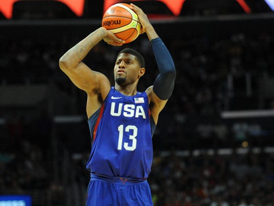 Pacers star Paul George is back in a Team USA jersey
