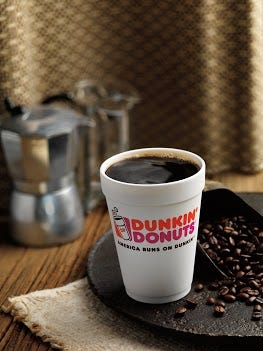 Dunkin Donuts promotional photo.
