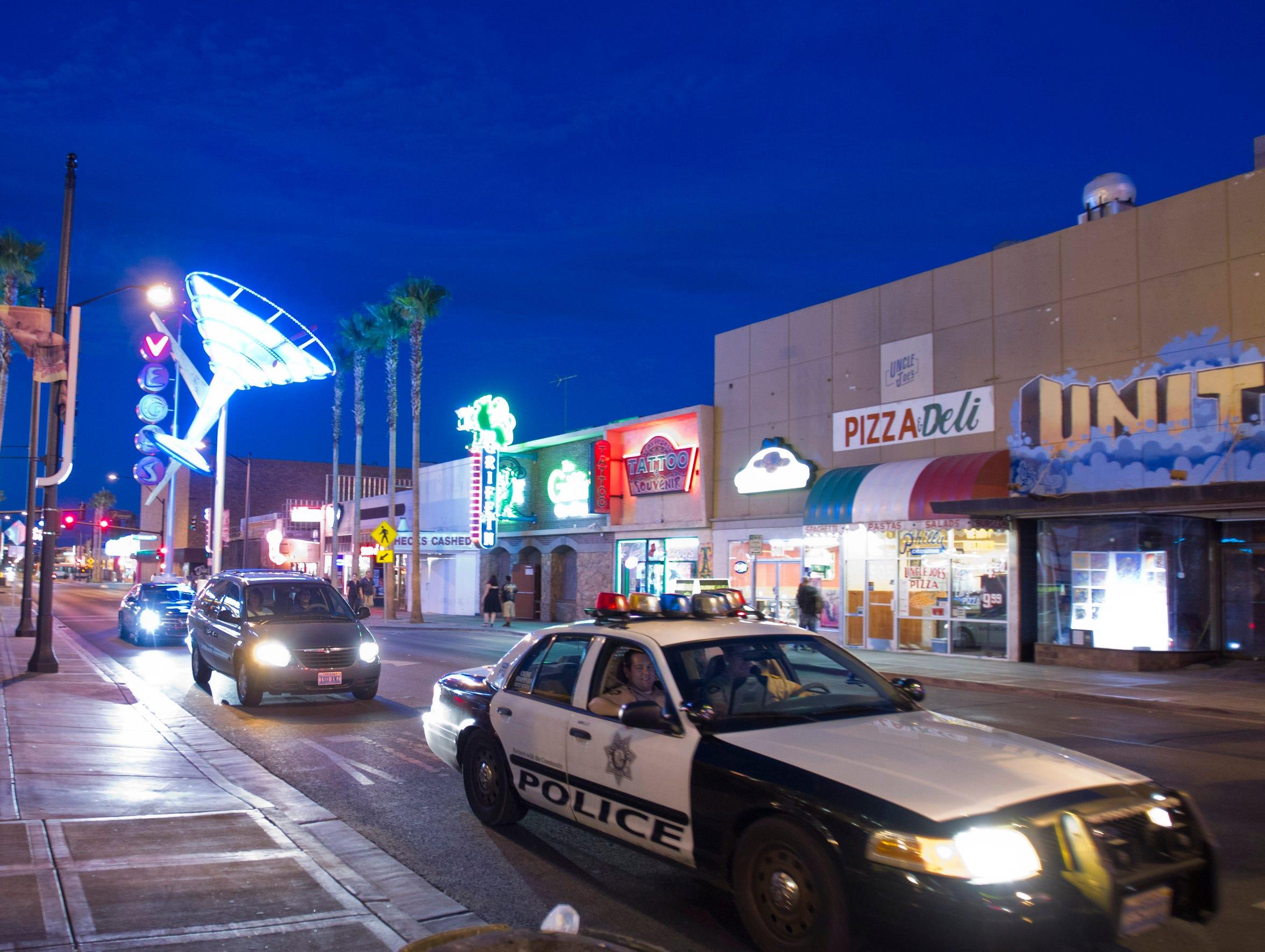 Las Vegas Fugitives scene