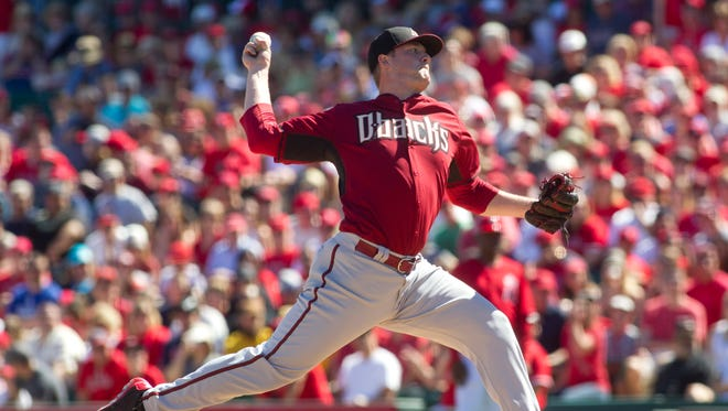 Teams don't often send their best pitching prospects to the fall league, but in Archie Bradley's case, he can use the innings after missing nearly two months with elbow problems.