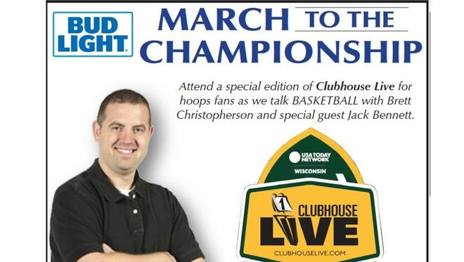 Brett Christopherson hosts a March to the Championship Day at Clubhouse Live