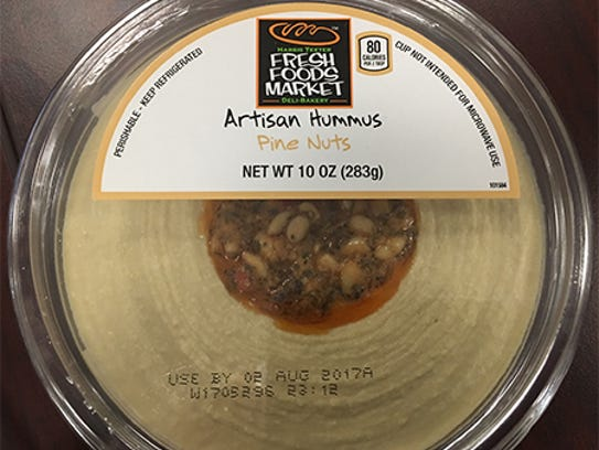 Select packages of Fresh Foods Market Artisan Hummus