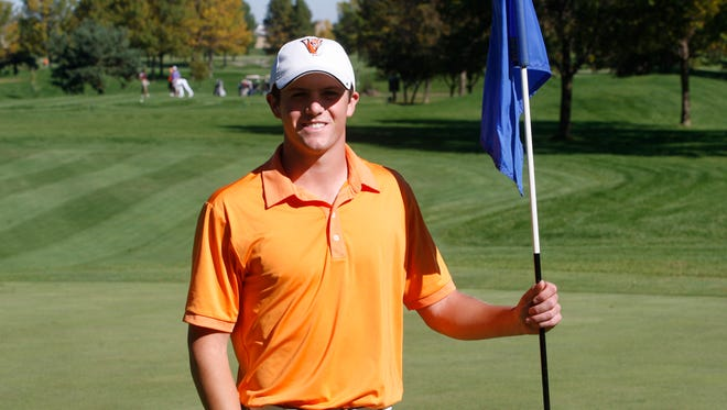 Valley's John Walsh made a hole-in-one at the Valley Invitational on Monday at Briarwood Golf Course in Ankeny. Walsh aced the par-3, 145-yard, No. 2 hole.