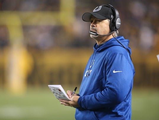 USP NFL: INDIANAPOLIS COLTS AT PITTSBURGH STEELERS S FBN USA PA