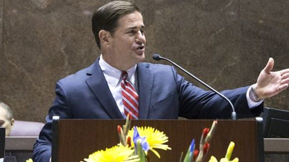 Gov. Doug Ducey delivers his second State of the State