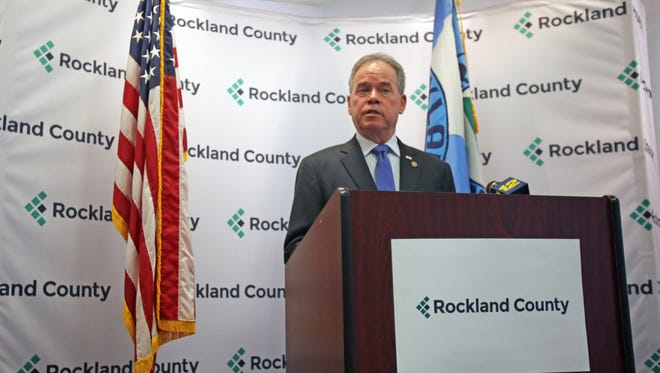 A file photo of Rockland County Executive Ed Day inside the county office building in New City on Nov. 22, 2016.