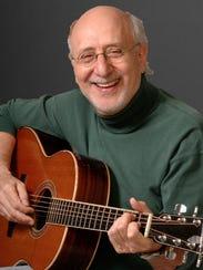 Folk musician Peter Yarrow plays Sunday in Middlebury.